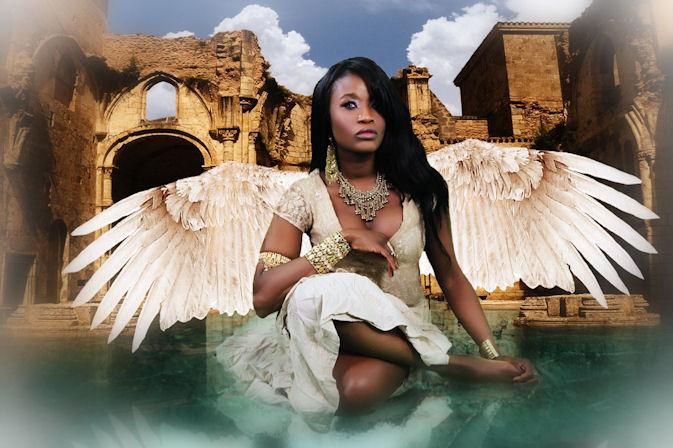 Sabine Mondestin Angel - Small