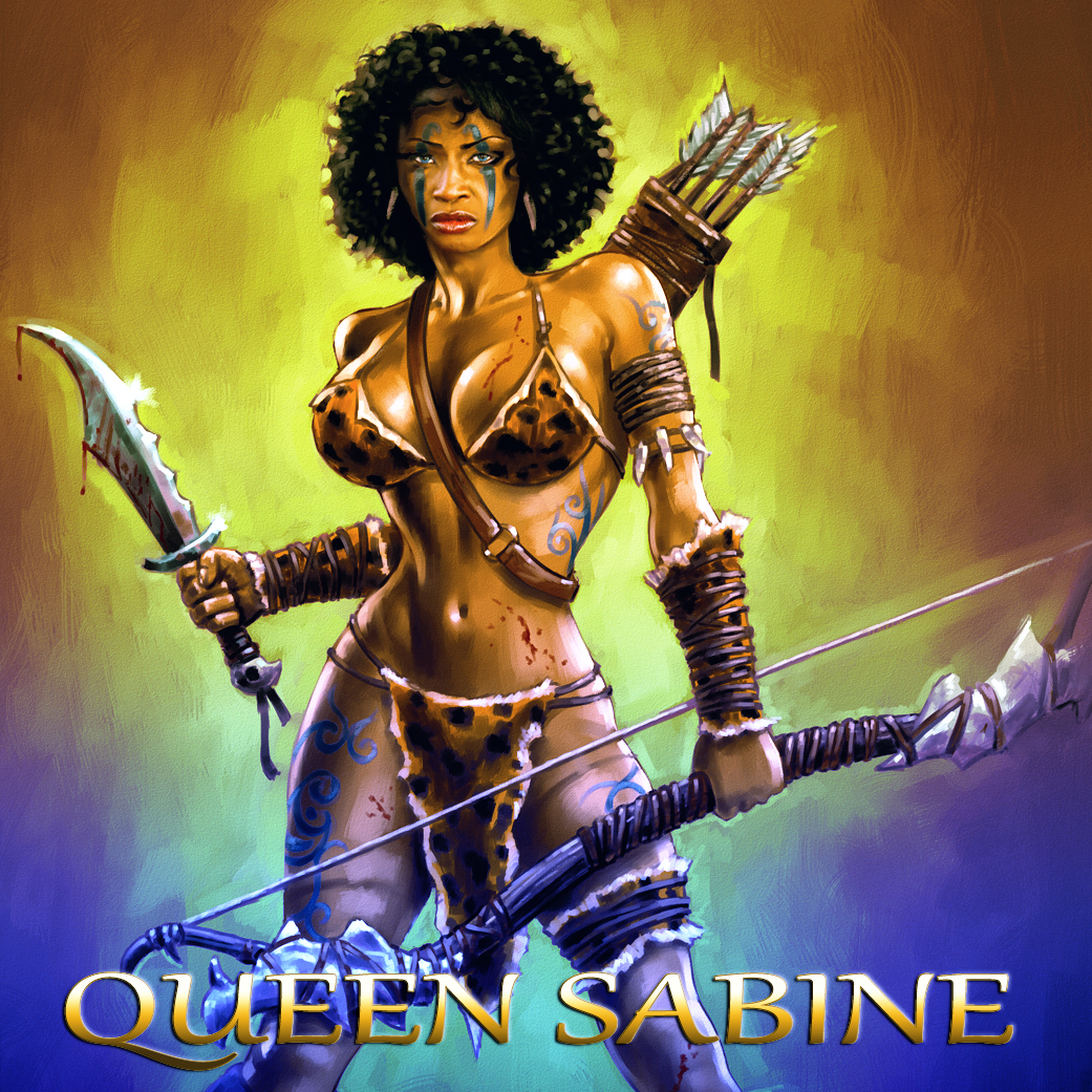 Warrior Queen Sabine Mondestin