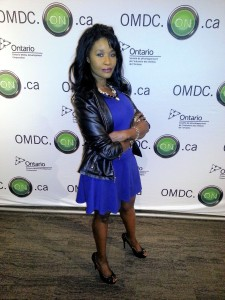 Sabine Mondestin at the OMDC Party for TIFF