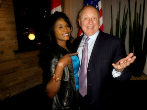 Having fun with the U.S Ambassador Bruce Heyman